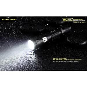 Lanterna profesionala Nitecore MH25GTS, 1800 lumeni, reincarcabila