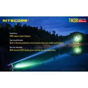 Lanterna Nitecore Tm38, 1800 lumeni