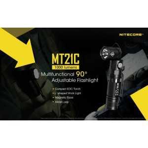 Lanterna Nitecore MT21C, 1000 lumeni