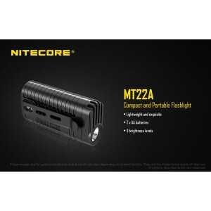 Lanterna Nitecore MT22A, 260 lumeni