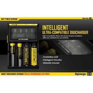 Incarcator universal Nitecore Digicharger D4