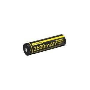 Acumulator Nitecore NL1826R, 2600 mAh