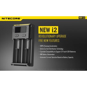 Incarcator Nitecore I2