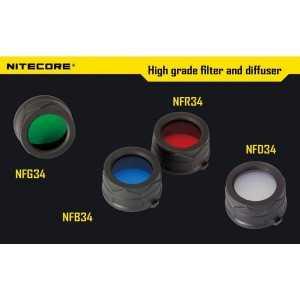 Filtru Nitecore NFD34, alb
