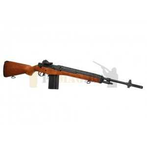 Replica airsoft M14 Wood