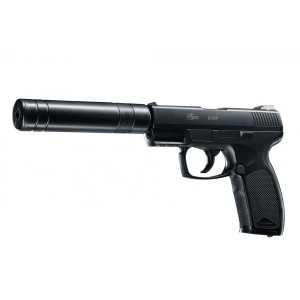 Pistol Co2 Airsoft Cop Sk 6Mm 15Bb 2,1J + Amortizor