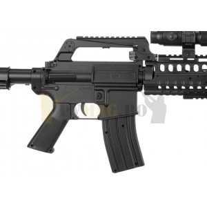 Replica airsoft M4 RIS Commando Spring Gun