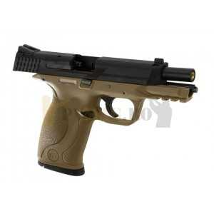 Replica pistol airsoft M&P Metal Desert GBB