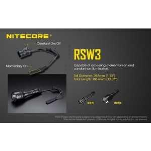 Intrerupator cu fir Nitecore RSW3